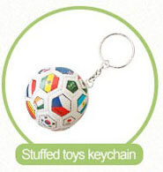 soft soccer ball keychain factory