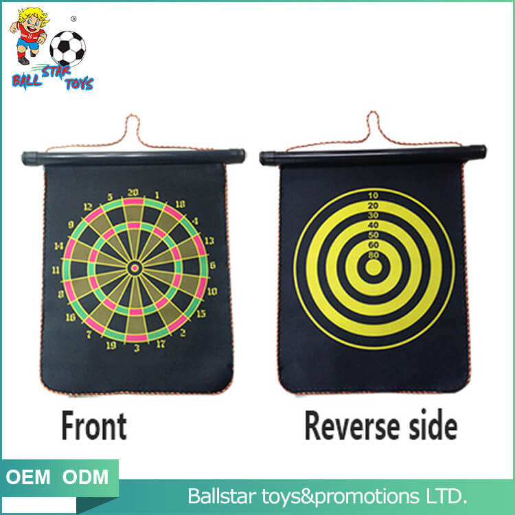 Two sides magnetic darts